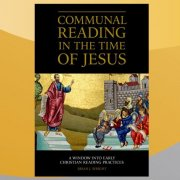 Communal Reading in the Time of Jesus Brian Wright