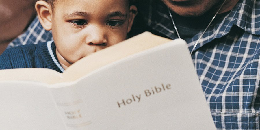 Image result for reading bible to kids