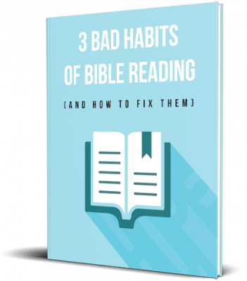 3 Bad Habits of Bible Reading eBook